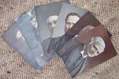 Vintage Collectable Postcards (6) - Divided back 1/2d stamp box approx 1902-1918