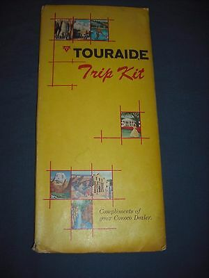 1963 Conoco Touraide Trip Kit with Wisconsin Map