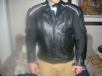 Xelement Padded Motorcycle Jacket-Mens Large-New without Tags