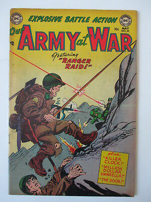 Our Army At War 22  Fine-  (Combined Shipping) (See 12 Photos) (Auction #25)