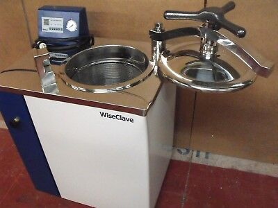 Wiseclave Wacs-1080 Top-Loading Steam Sterilizer Portable Autoclave On Wheels