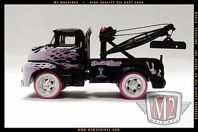 M2 Machines 1956 Ford COE Tow truck Convention 1 of 492 Chase 1/64 Diecast