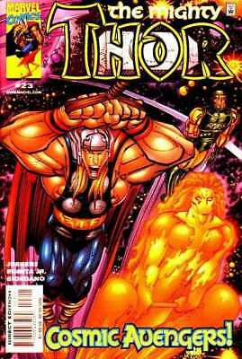 Thor (1998 series) #23 in Near Mint minus condition. Marvel comics