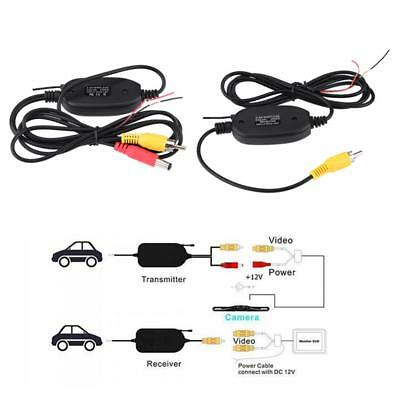 2.4G Wireless Receiver & Transmitter for Car Rear View Parking Camera Monitor