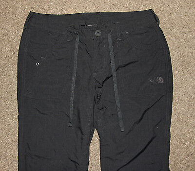 The North Face black pants size US4, AU 8 - 10 travel outdoor hiking