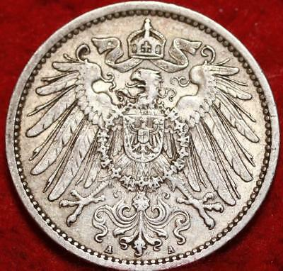 1907 Germany 1 Mark Silver Foreign Coin