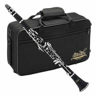 Beginner Student Bb Clarinet Black Music Instrument Carry Case 17 Key System New