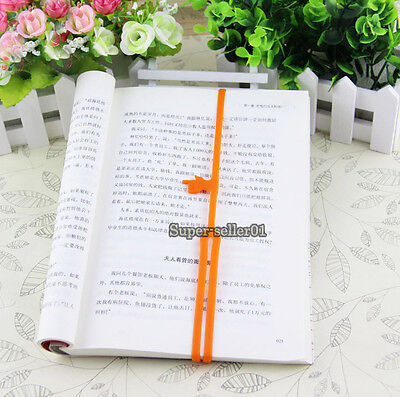 Fashion1PCS Silicone Finger Point Pointing Bookmark Book Marker Office Supply