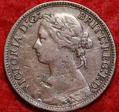 1878 Great Britain Farthing Foreign Coin