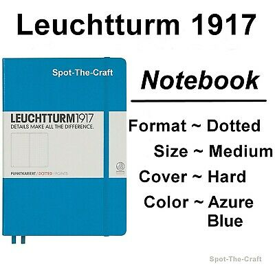 Leuchtturm1917 Dotted Journal Notebook Medium A5 Azure Blue 346695