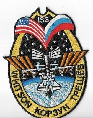 Expedition 4 .............A3244 Aufnäher Patch Raumfahrt ISS Mission