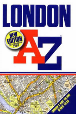 A-Z London (Street Atlas), Geographers' A-Z Map Company, Used; Good Book