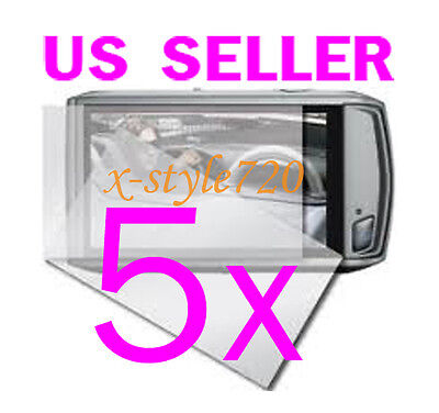 5x Canon ELPH 500 HS / IXUS 310 HS Camera LCD Screen Protector Guard