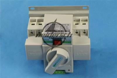1PC New Q3R-63 Intelligent Mini 63A 3-Phase Dual Power Automatic Transfer Switch