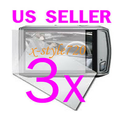 3x Canon ELPH 500 HS / IXUS 310 HS Camera LCD Screen Protector Guard
