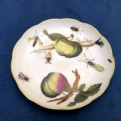 HEREND HUNGARY ANTIQUE - EXTREMELY RARE - Bread and Butter Plate (1890 to 1915)