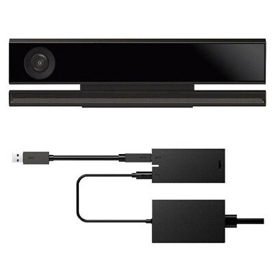 For Kinect 2.0 Sensor USB Adapter Xbox One S & Xbox One X &Win 8/8.1/10 EU plug