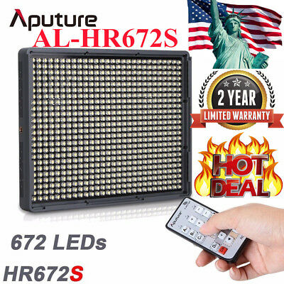 Aputure Amaran AL-HR672S LED Video Light Panel for Camcorder & DSLR Cameras USA