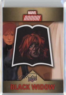 2016 Upper Deck Marvel Annual Single Character Patch #CP-4 Black Widow Card 0p3
