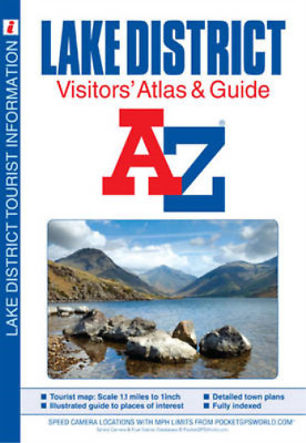 Lake District Visitors Atlas (Street Atlas), Geographers A-Z Map Company, Used;