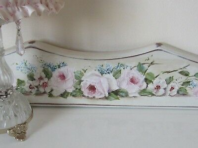 STUNNING*Gail McCormack*Shabby Chic~ViNtAgE Style~*PINK ROSES*~ORIGINAL PAINTING