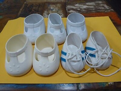3 PAIRS MY CHILD DOLL  CABBAGE PATCH DOLLS SHOES 1980s   #2