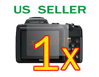 1x Nikon Coolpix L120 Clear LCD Screen Protector Guard Cover Film