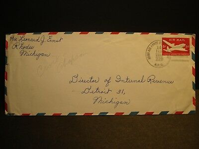 APO 219 GERMANY 1958 Army Air Force Cover