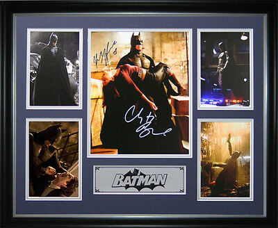 Batman Signed Framed Memorabilia