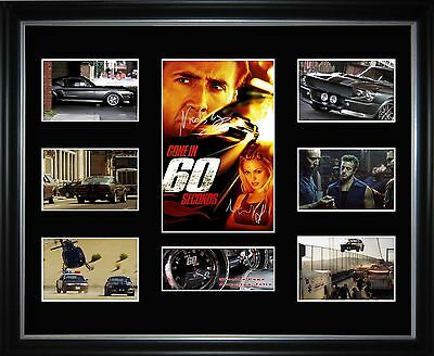 Gone in 60 Seconds Limited Edition Framed Memorabilia