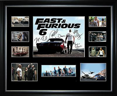 Fast & Furious 6 Limited Edition Framed Memorabilia