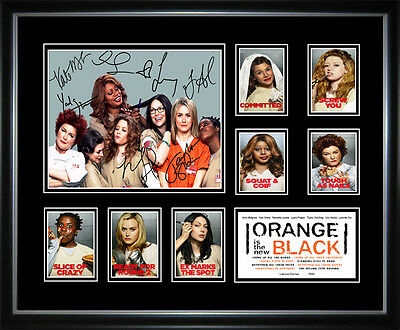 New Orange Is The New Black Signed Framed Memorabilia