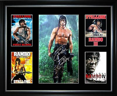 Rambo Series Limited Edition Framed Memorabilia