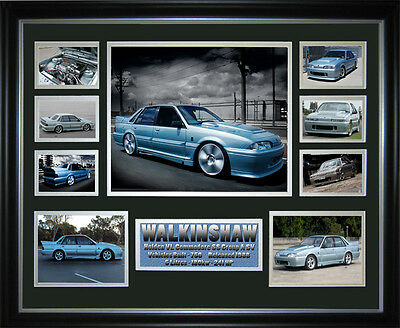 Commodore VL Walkinshaw SS Group A Framed Memorabilia