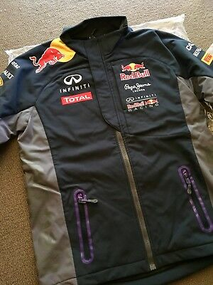 Brand NEW Formula 1 Red Bull F1 Racing Team Pepe Jeans Softshell Jacket S