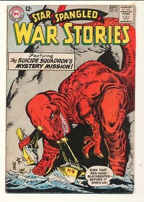 Star Spangled War Stories (1952 series) #110 in Fine + condition. DC comics