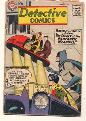 Detective Comics (1937 series) #263 in Very Good minus condition. DC comics