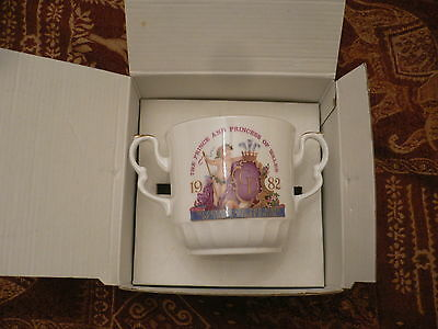 Fine Bone China Cup Elizabethan Staffordshire Hand Decorated