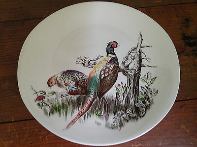 Johnson Brothers Game Birds Pheasant ironstone oval plate 9.5 inch made England