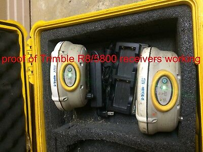 Trimble R8 And 5800 Gps Receivers