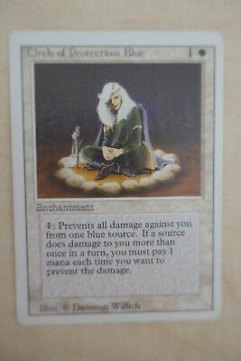 MTG: 17 circle of protection cards in various colours, revised edititon, LP