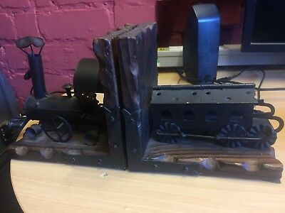 Train and Carriage Book Ends