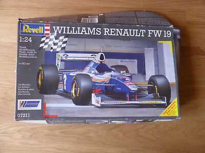 Revell Williams Renault FW 19 Nr 07211 scale 1:24