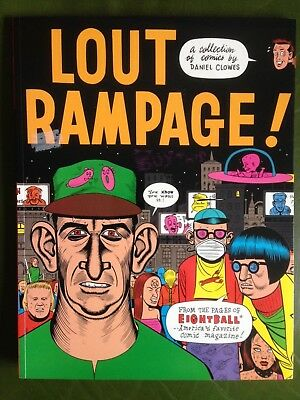 LOUT RAMPAGE Daniel Clowes 2nd Printing 1996 VFN- Fantagraphics Eightball RARE