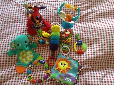 Selection of Nuby, Lamaze & M&S babies children's toys, teethers rrp £65+