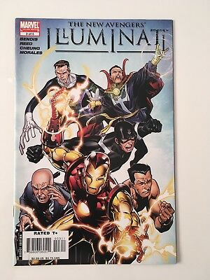 New Avengers Illuminati #3 Of 5 Jul 2007 NM
