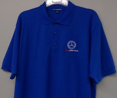 Mercedes Benz-AMG Racing Mens Embroidered Polo XS-6XL, LT-4XLT NEW