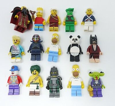LEGO Lot of 15 Rare CMF Collectible Minifigures - 100% Authentic