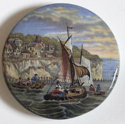 Pot-Lid (Pratt Ware) No 31 (Pegwell Bay - Lobster Fishing)