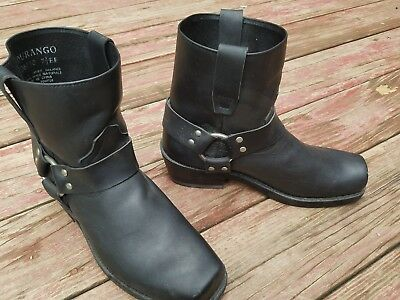 be53bb026f866 Durango DB710 Mens Black Leather Biker Harness Riding Motorcycle Boots Sz  7.5 EE